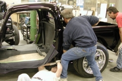 BODY TO CHASSIS ASSEMBLY
