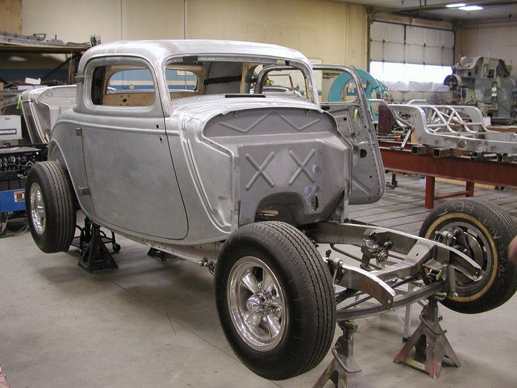 Steve's Auto Restorations | 1934 REAL STEEL COUPE
