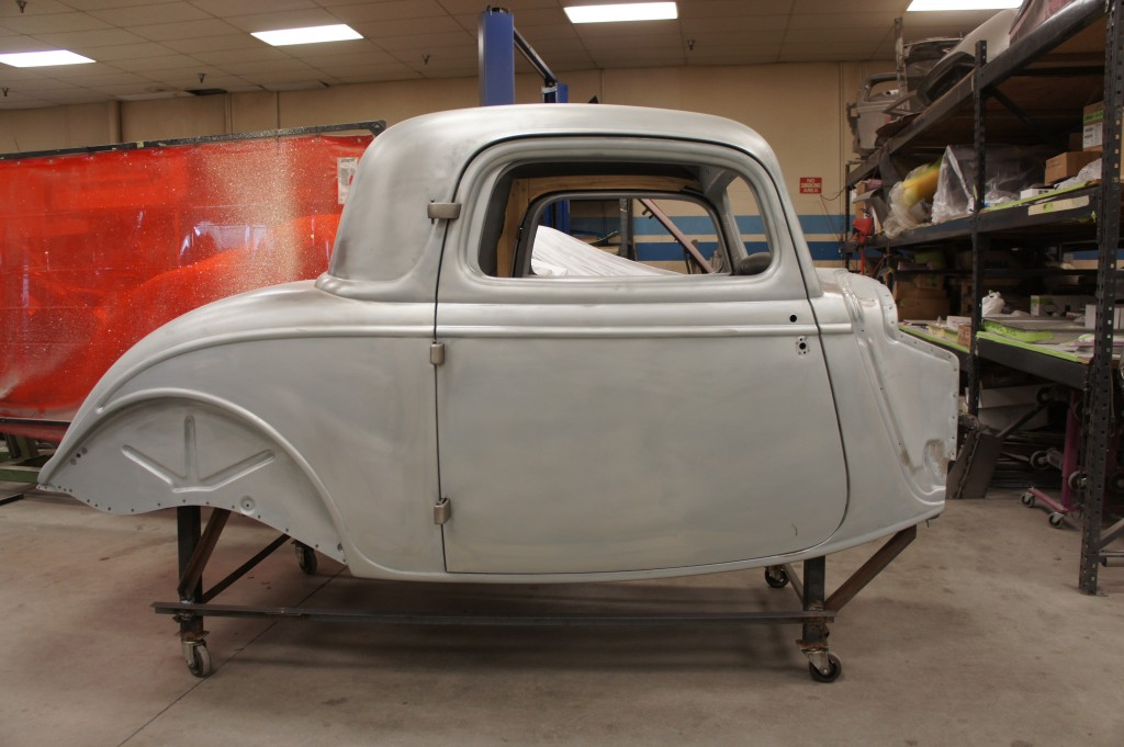 (sold) 1934 3 window coupe body
