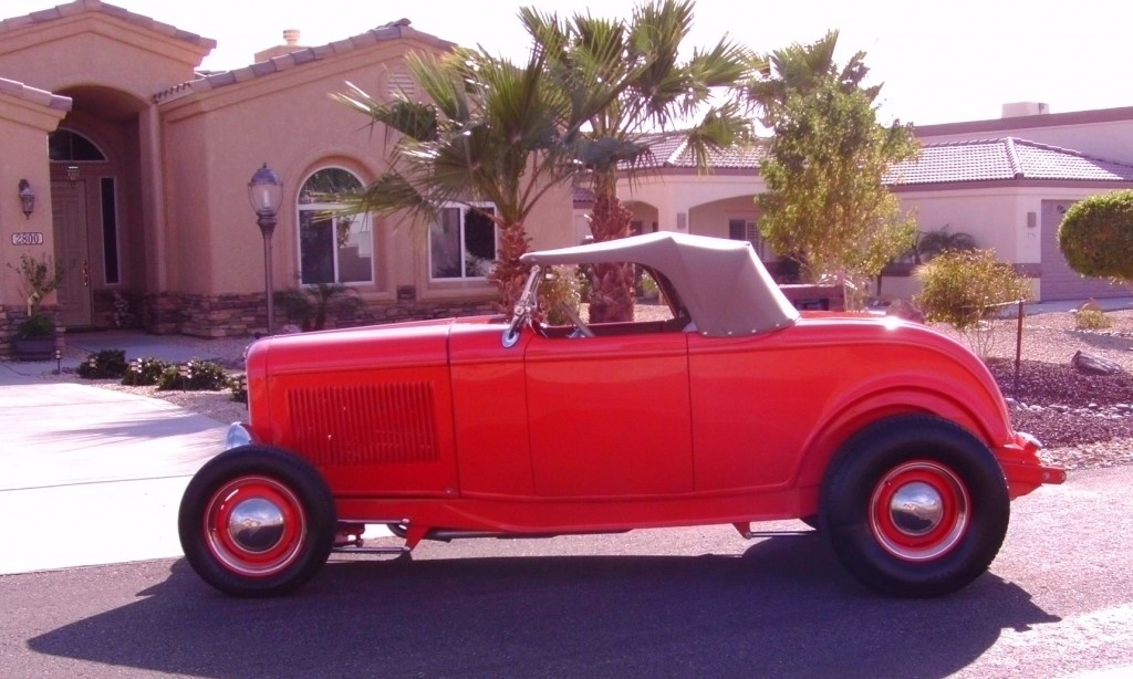 Steve\'s Auto Restorations | (SOLD) 1932 FORD ROADSTER